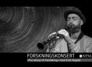 Forskningskonsert med Eirik Hegdal