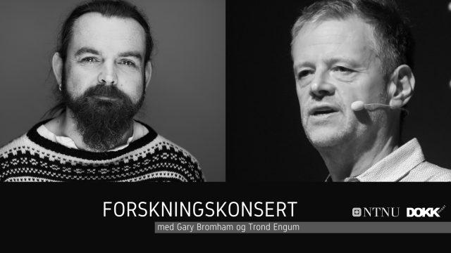 Forskningskonsert med Gary Bromham og Trond Engum