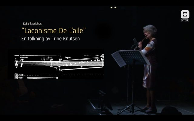 Dokumentar om «Laconisme De L'aile»
