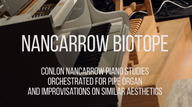 Conlon Nancarrow – Piano studies